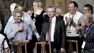 Alberto aseguró a la CGT un espacio de poder en su gobierno