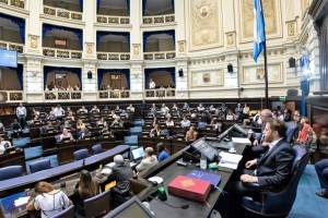 La Legislatura bonaerense sancionó las emergencias que pidió Kicillof