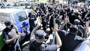 Se profundiza la protesta de la Policía Bonaerense