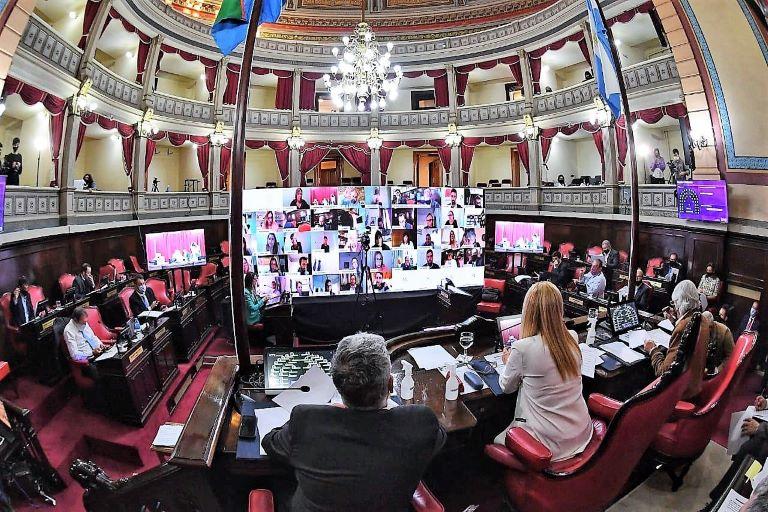 Sesion Senado Bonaerense