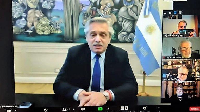 Alberto Fernandez Frente de Todos