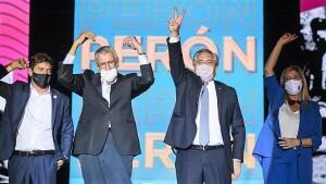 Alberto asumió al frente del PJ y le pegó durísimo a Macri