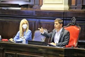 Kicillof anunció un plan de reactivación con base en la obra pública