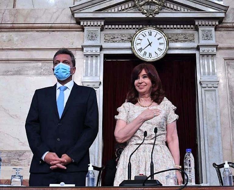 Massa y Cristina - Asamblea Legislativa 2021
