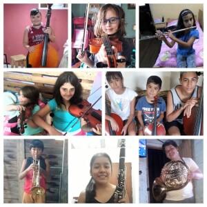 Renuevan los instrumentos de la Orquesta Escuela de Berisso