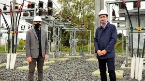 Ya funciona una nueva subestación de energía en Magdalena