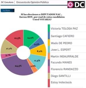 """Una encuesta muestra a """"Juntos"""" ganador de las PASO por 10 puntos"""