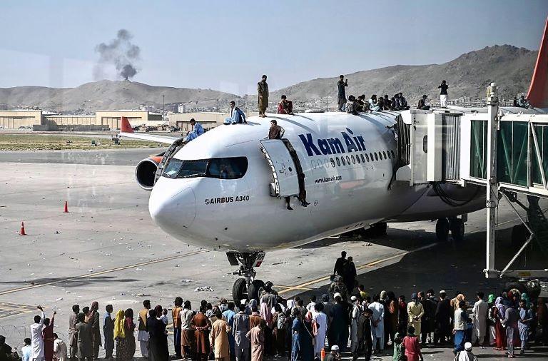 Afganistán - Salida del país - EEUU