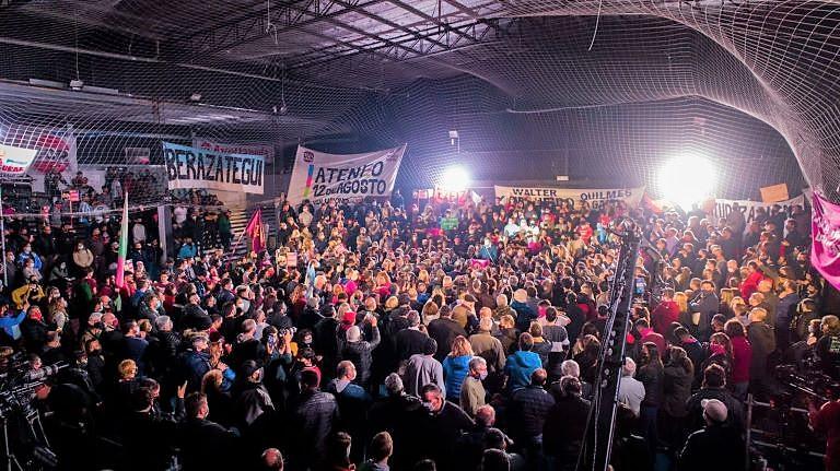 Acto Manes en Quilmes - cierre campaña 2021