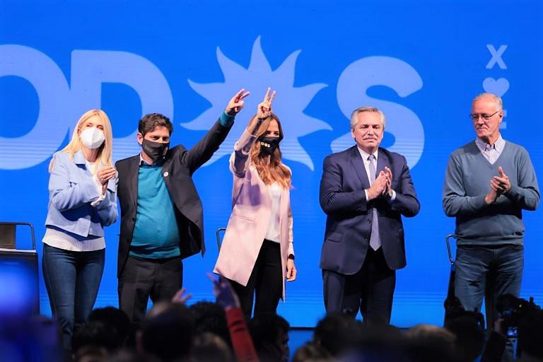 Cierre campaña Frente de Todos 2021-Mar del Plata