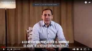 """Garro: """"Tu voto es la llave después de tanto encierro"""""""