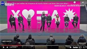 Máximo Kirchner - cierre campaña 2021