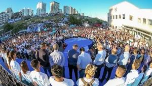"""La """"opción"""" peronista llamó a construir «una nueva mayoría»"""
