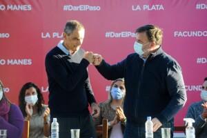 Frangul y Rovella profundizan la campaña de Manes en La Plata