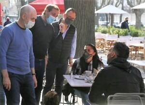 Larreta se puso al hombro la campaña de Santilli en La Plata