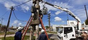 Habilitan una obra para mejorar el servicio eléctrico en Ensenada